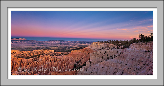 Earth Shadow over Bryce Point