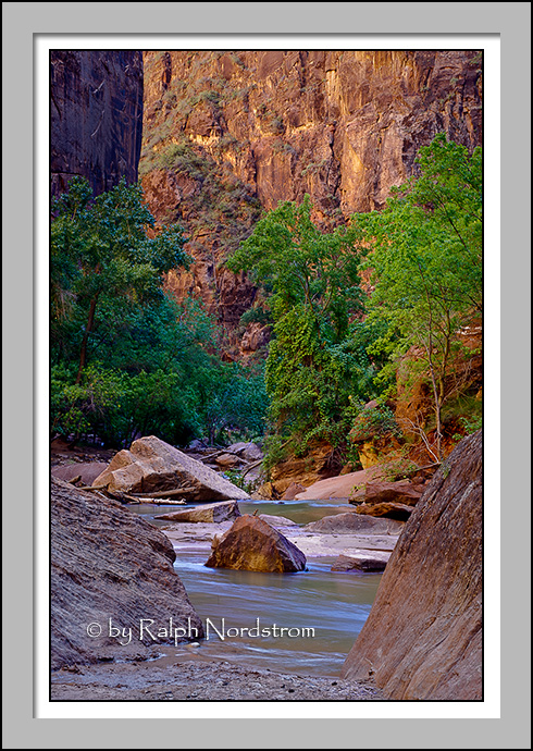Gateway to the Narrows, Zion